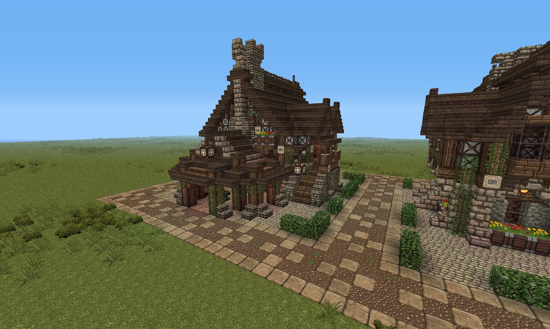 Minecraft projet les créations de léonius